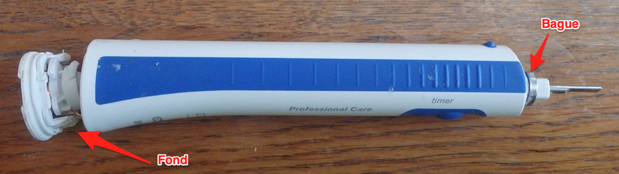 brosse a dent oral b modèle smart 6000