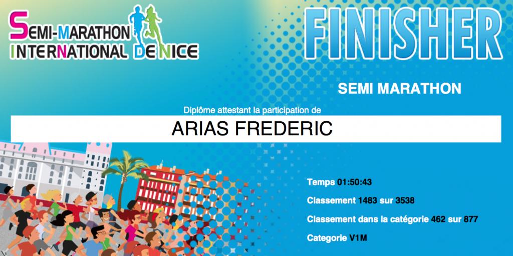 Semi-Marathon Nice 2015